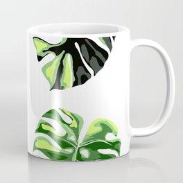 illustration of monstera deliciosa Coffee Mug