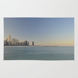 Chicago skyline #1 Rug