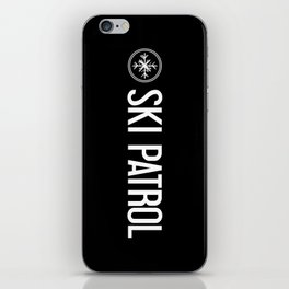 Ski Patrol: Snowflake iPhone Skin