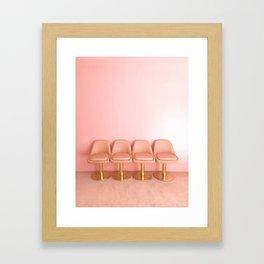 The Pink Room Framed Art Print