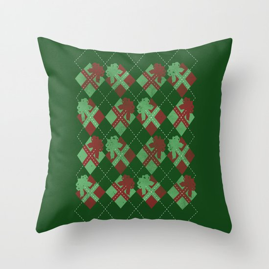 it's all about the presents Throw Pillow