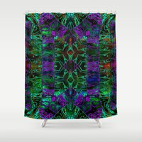 wild things Shower Curtains featuring Wild Things II by RingWaveArt