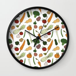 Harvest Wall Clock