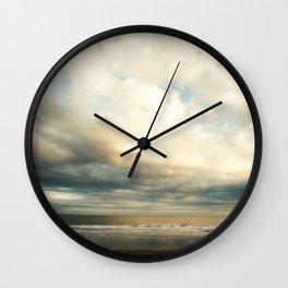 I Dream of Sea Wall Clock