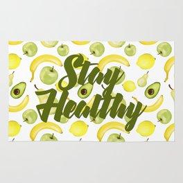 Stay Healthy Rug