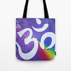 Mantra ... Aom in white Tote Bag