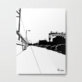 Stockport Train Station Metal Print