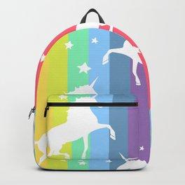 Rainbow Unicorns Backpack