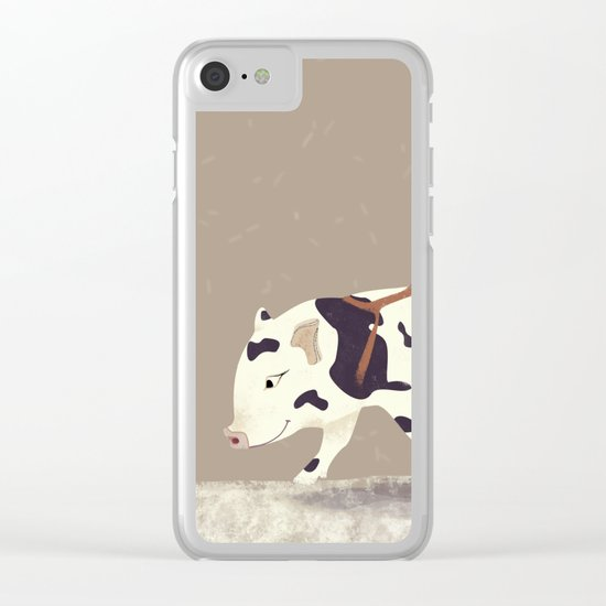 On The Road Again Clear iPhone Case
