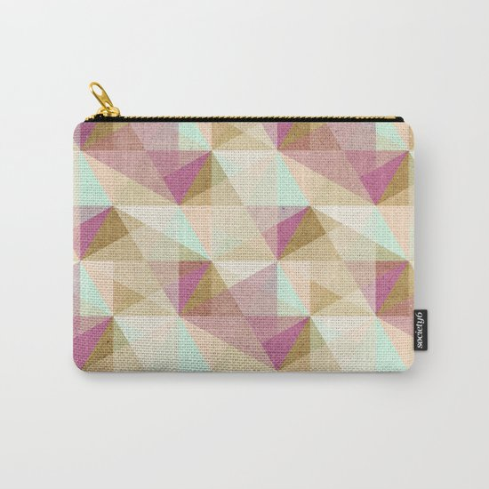 Geometric#24 Carry-All Pouch