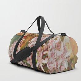 romantic flower window Duffle Bag