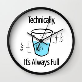 Science is Optimistic Wall Clock