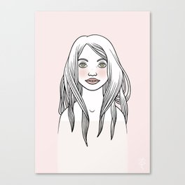 Rosenrot Canvas Print