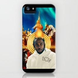 Kendrick Krist Uno iPhone Case