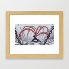Kaneki Ken v4 Framed Art Print