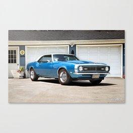 '68 Camaro Canvas Print