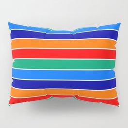 saint petersburg city flag stripes Pillow Sham
