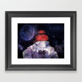 The Dream Chaser Framed Art Print