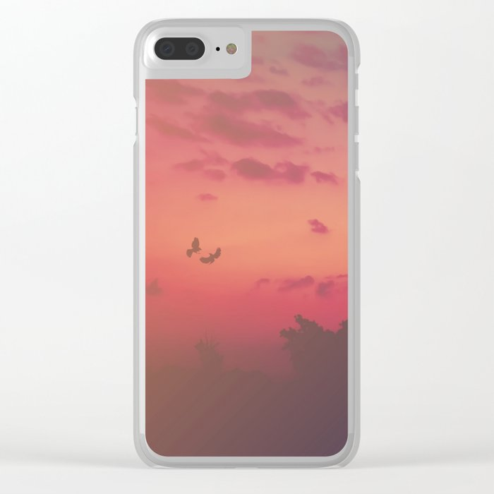 Love Runs Out Clear iPhone Case