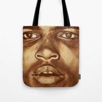 ali Tote Bags featuring ALI by noblackcolor