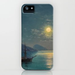 Evening in Crimea by Ivan Aivazovsky iPhone Case