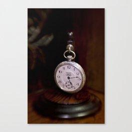 """Waltham """"Ford"""" Pocket Watch Canvas Print"""