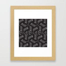 Metallic clew Framed Art Print
