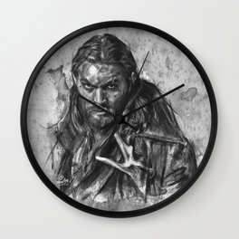Declan Harp Wall Clock