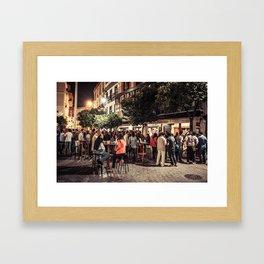 Seville in the Evening Framed Art Print