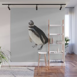 Poly Penguin Wall Mural