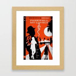 Hardboiled :: Farewell My Lovely :: Raymond Chandler Framed Art Print