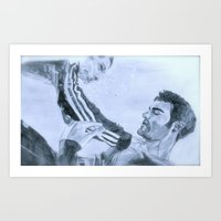 "Sterek ""I'll always get you""  Art Print"