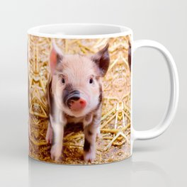 Cute Baby Piglet Farm Animals Babies Coffee Mug
