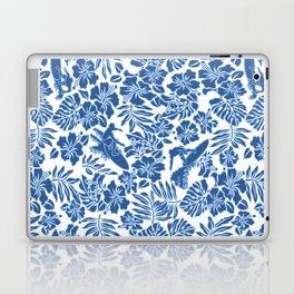 Surf Pareau Hawaiian Hibiscus Aloha Shirt Print Laptop & iPad Skin