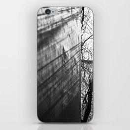 Tree shadows iPhone Skin