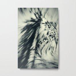 Swerve (Faded Green) Metal Print