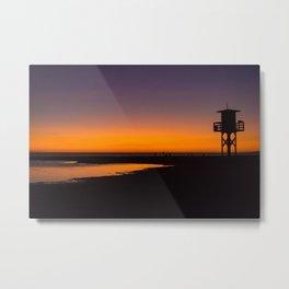 Tarifa sunset Metal Print