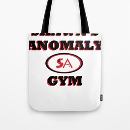 Shawn's Anomaly Gym Tote Bag