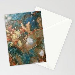 Copper Splash Stationery Cards