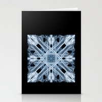 snowflake Stationery Cards featuring Snowflake by Steve Purnell