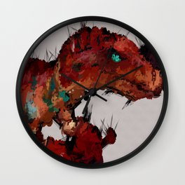 Audrey world of War craft Wall Clock