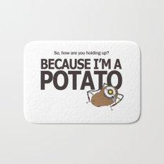 Glados Portal 2 Potato Bath Mat