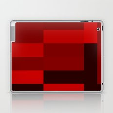 shades of red abstract Laptop & iPad Skin