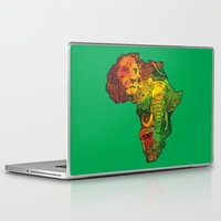 africa Laptop & iPad Skins featuring Africa by RicoMambo