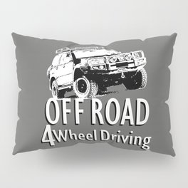 Off Road 4 Wheel Driving Pillow Sham