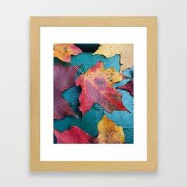 WithrowLeaves Framed Art Print