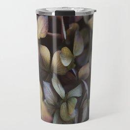 Pale purple hydrangea pattern Travel Mug