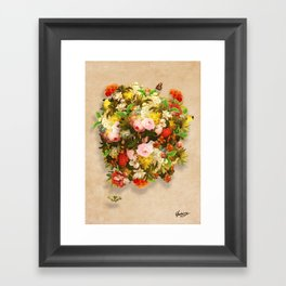 Flourishing Bliss Framed Art Print
