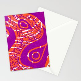 Linocut Print_2 Stationery Cards