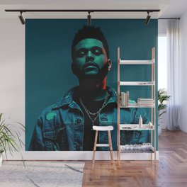 Portrait of the.Weeknd Wall Mural